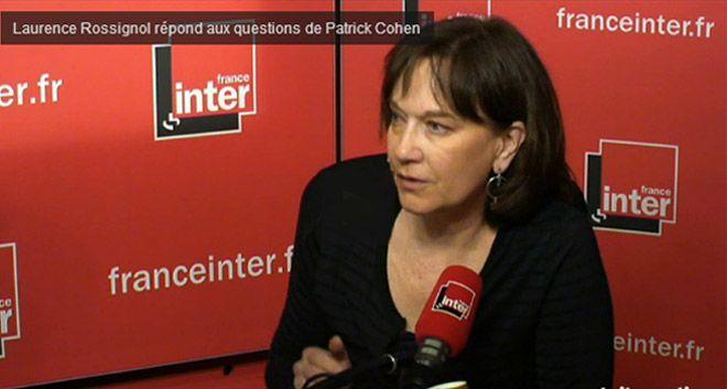 laurence Rossignol sur France Inter