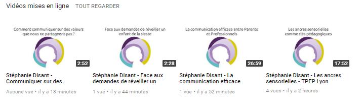 youtube Stéphanie Disant