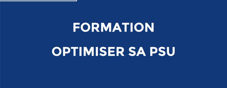 Optimiser sa PSU actu